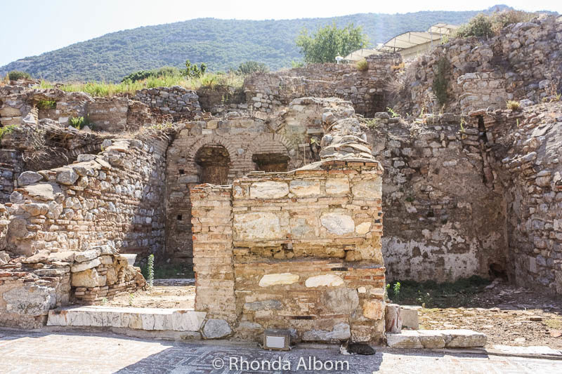 A room or a house in the ancient city of Ephesus in Turkey