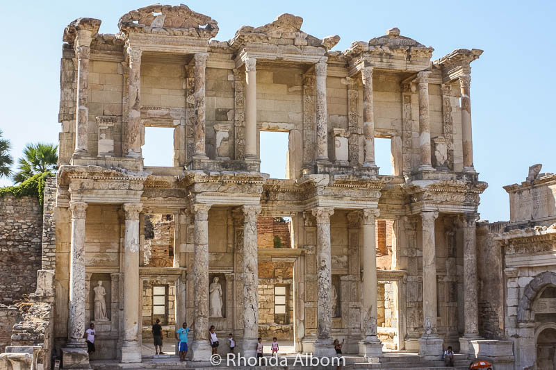 The Ephesus Library, Turkey