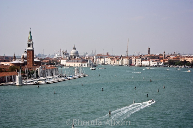 Sailing into Venice Italy on the Norwegian Spirit
