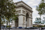 A Closer Look at the Arc de Triomphe in Paris France