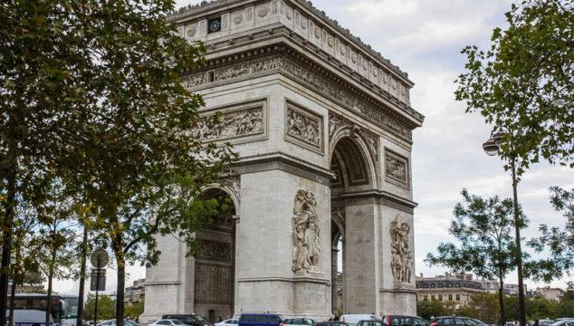 A Closer Look at the Arc de Triomphe in Paris France