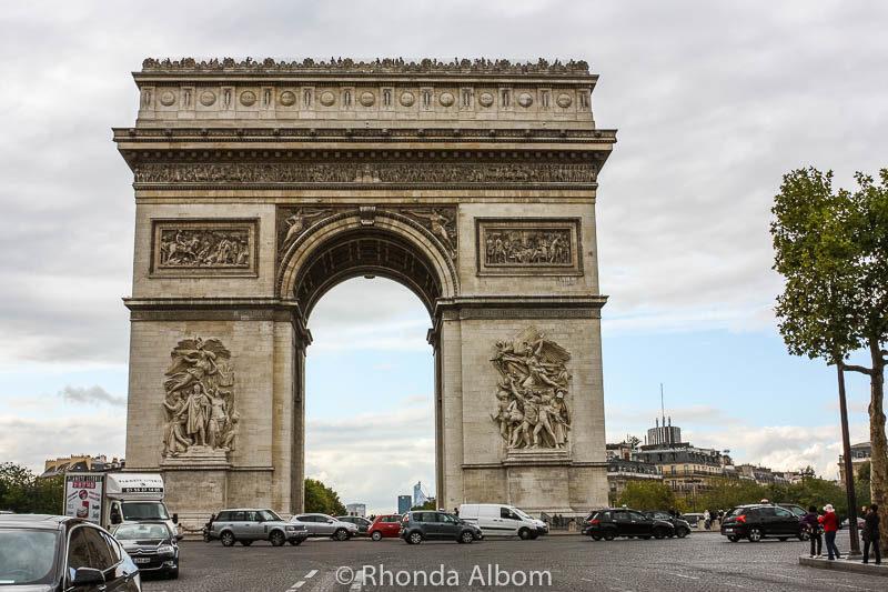 a closer look at the arc de triomphe in paris france ~ albom