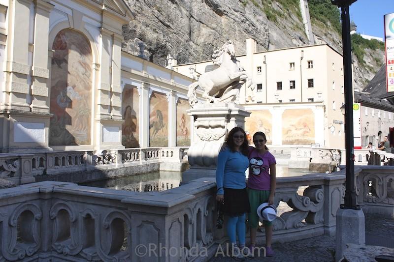 Visiting Salzburg, Austria