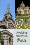 Tips to Avoid Crowds in Paris France