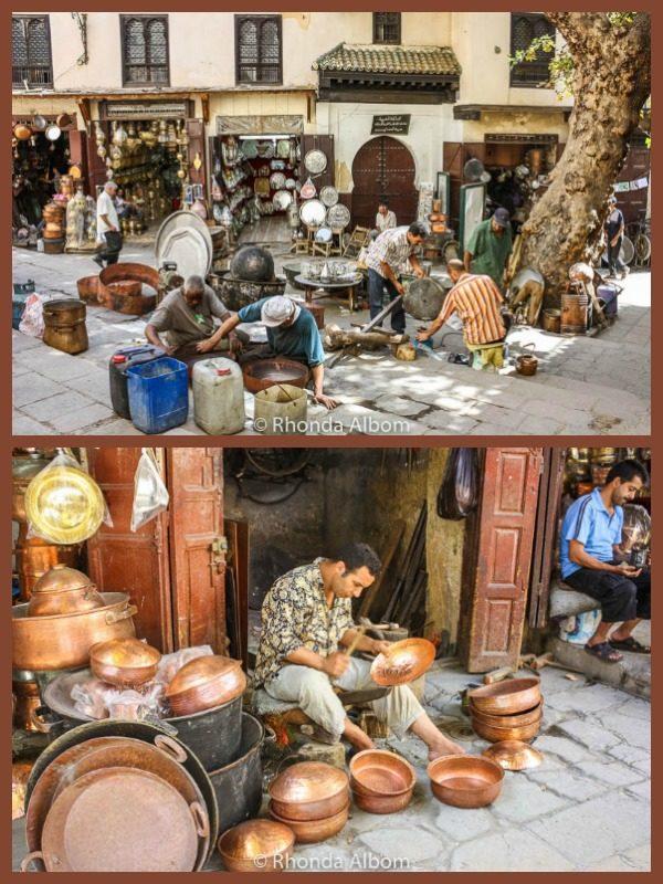 Craftsmanship in Fes Morocco