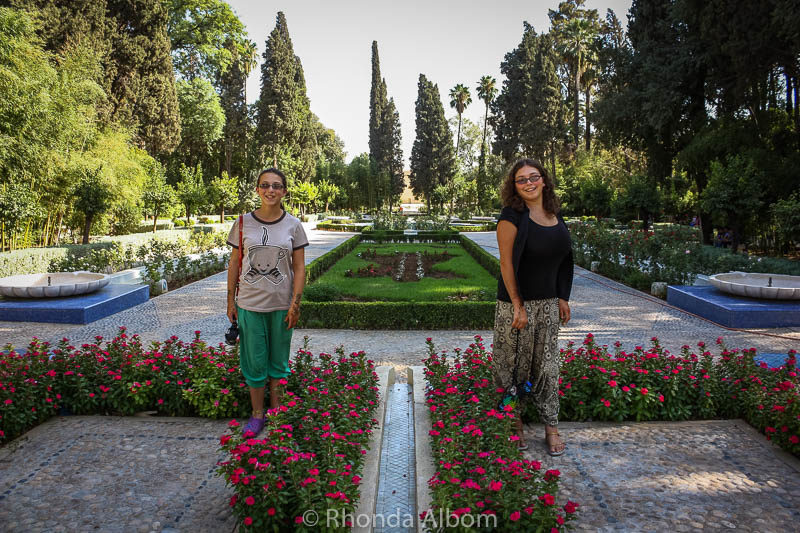 Jardin Jnan Sbil - a peaceful break, a favourite amongst the things to do in Fes Morocco