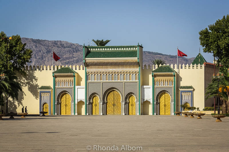 The Royal Palace of Fes Morocco