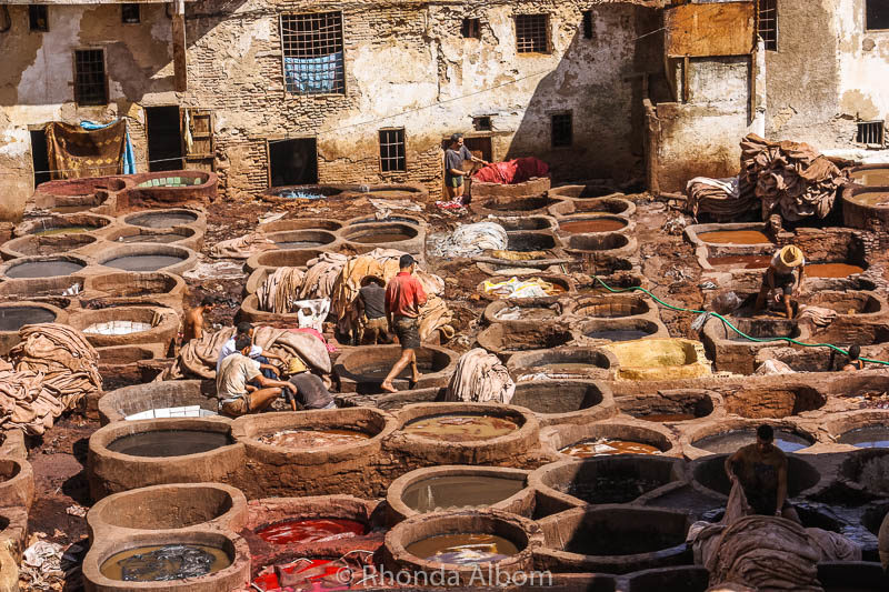 Fes Tannery in Morocco