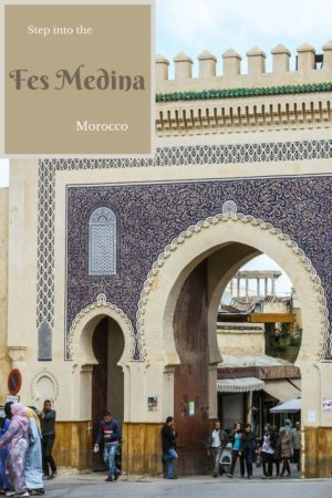 The 1300 year old walled Fes Medina is a place to wander, to get lost, and to discover. It is one of the world's largest pedestrian zones. Read the article for more photos.