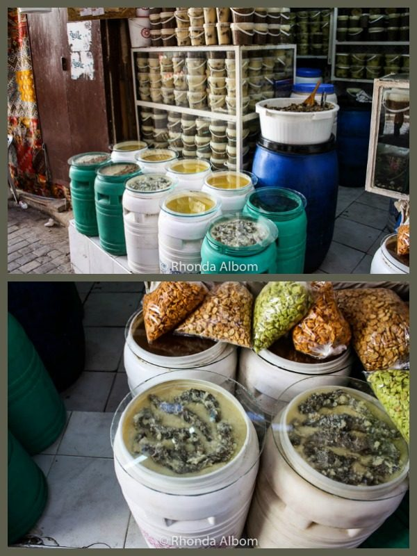 Food in the Fes Medina