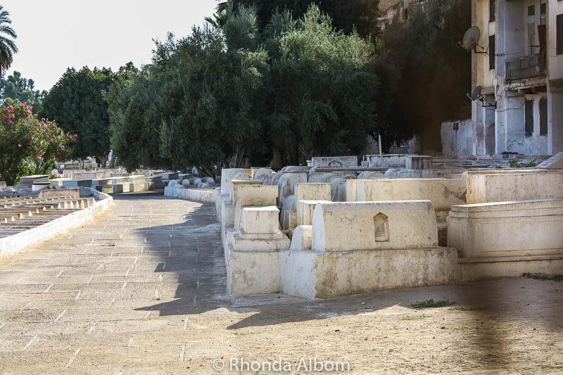 A Jewish cemetery in Morocco
