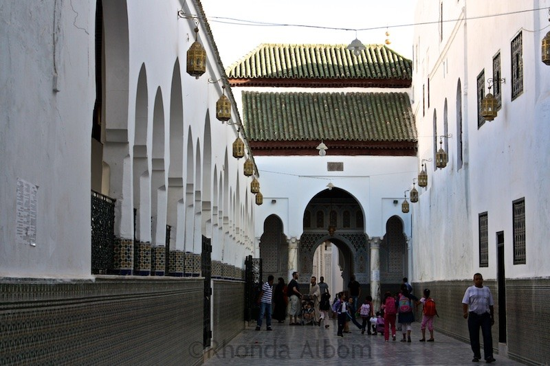 Mosque in Moulay Idriss Morocco