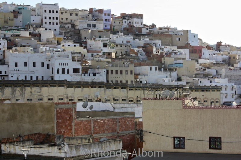 Holy town of Moulay Idriss Morocco