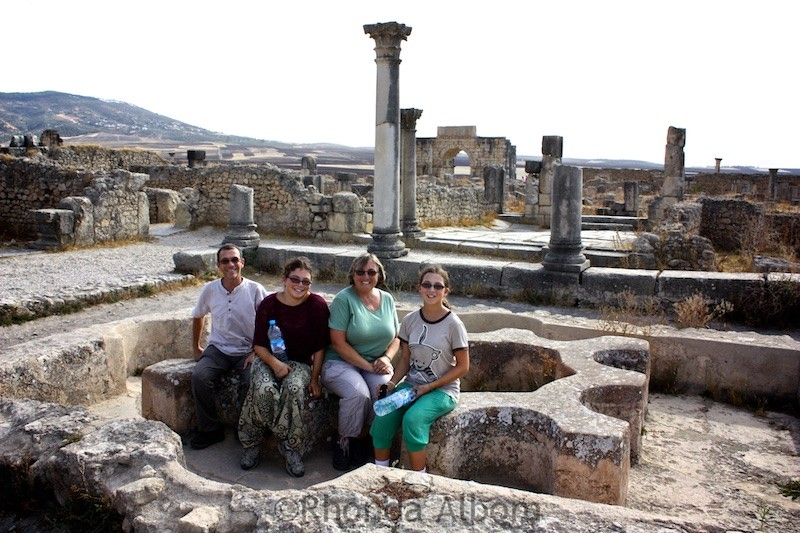 The ancient city of Volubilis in Morocco
