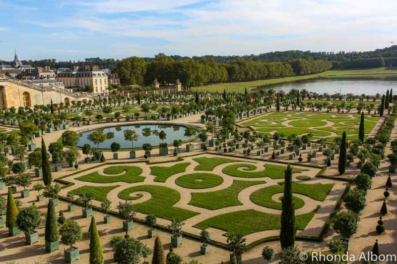 The famous gardens
