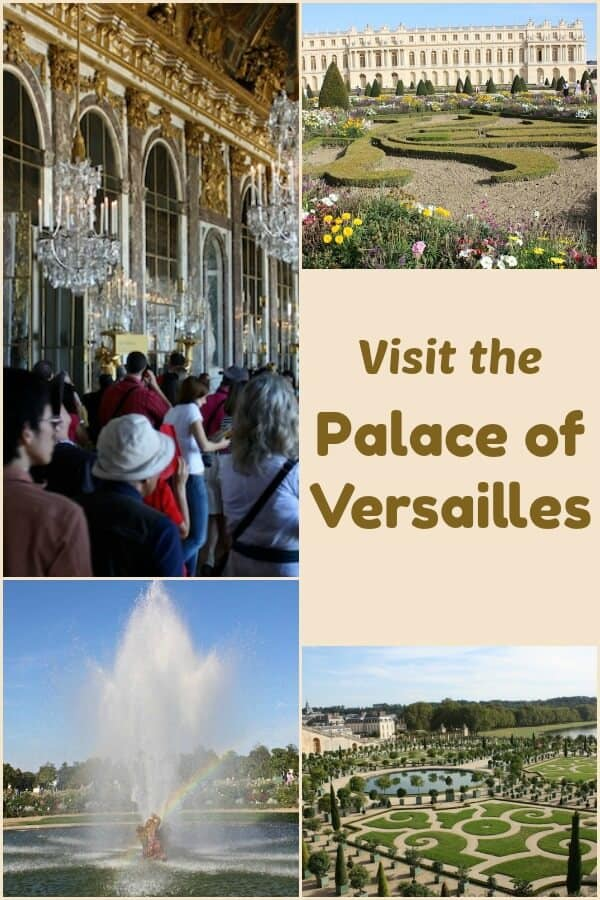 Palace of Versailles in Paris France