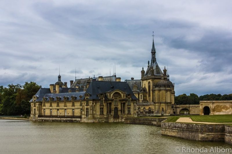 teau de Chantilly home to the living horse museum in Chantilly France, outside of Paris