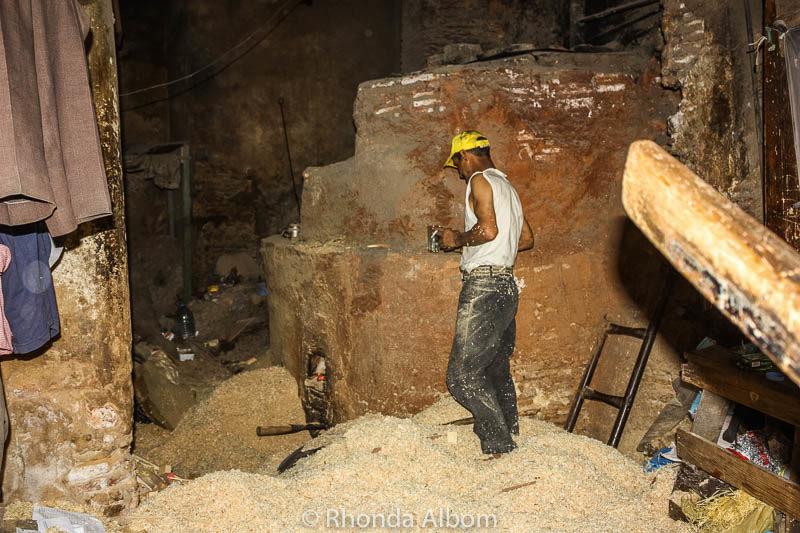 Hammam experience in Meknes Morocco