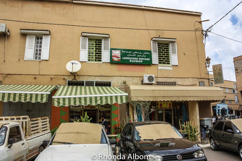 Pizza restaruant in Taroudant, Morocco