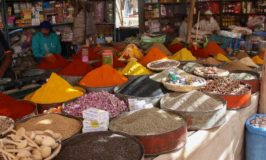 Traditional Moroccan Markets and a Donkey Parking Lot in Rissani