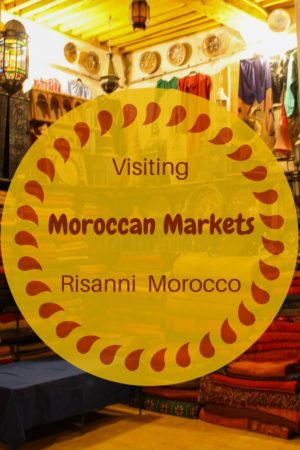 You might be surprised by some of the things we discovered at the tradition style Moroccan market in Rissani Morocco.