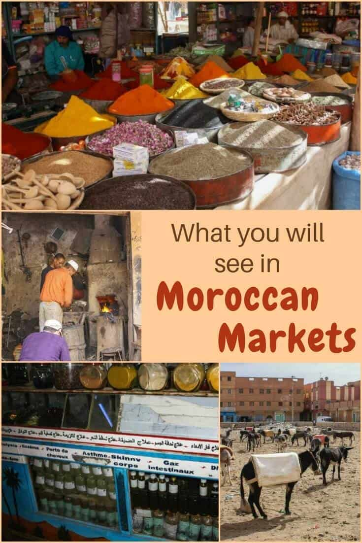 You might be surprised by some of the things we discovered at the traditional style Moroccan market in Rissani Morocco. Read the article for details and images.