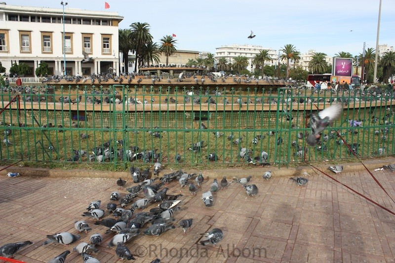 Casablanca town center
