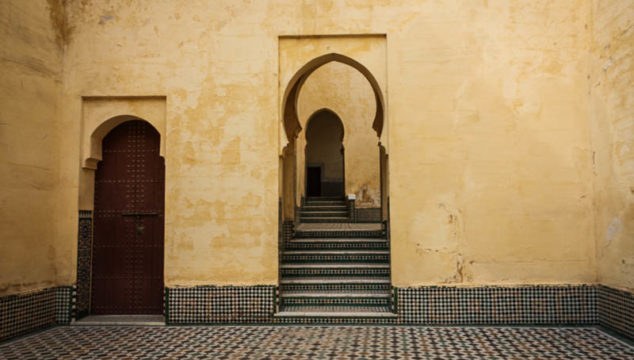 Moroccan Doors and Arched Doorways in Fes and Meknes Morocco