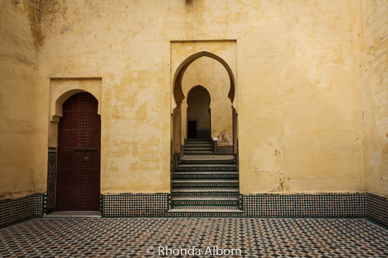 Moroccan Doors and Arched Doorways in Fes and Meknes