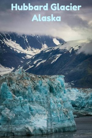 One of many photos of the 76-mile long Hubbard Glacier in Alaska.