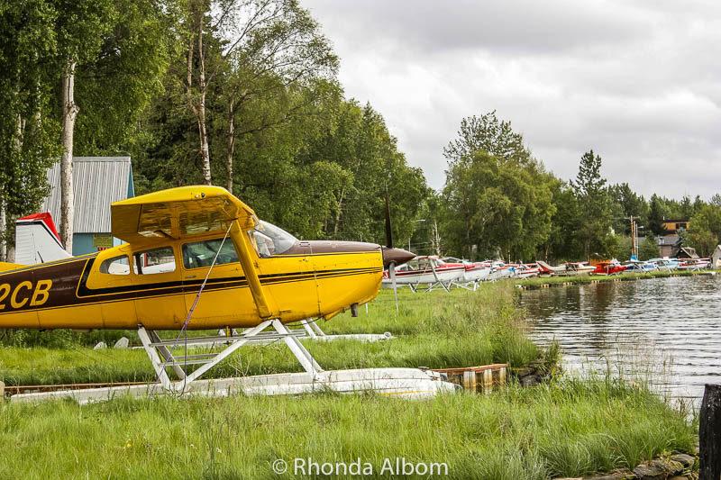 Lake Hood Seaplane Base in Anchorage Alaska