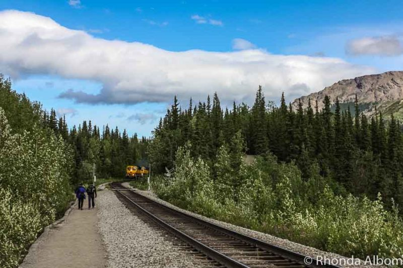 Riding the Denali Star is one of the great things to do in Alaska