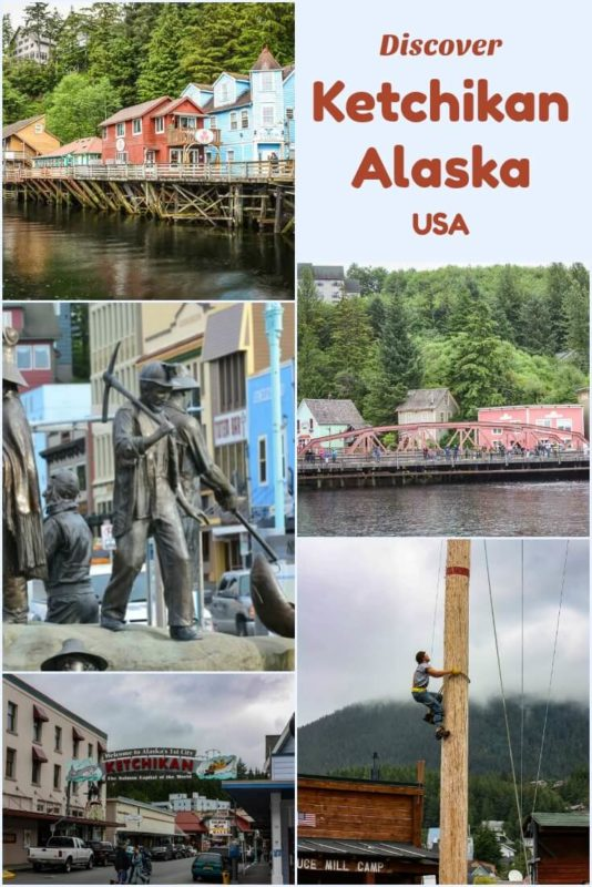 So many things to do in the cruise port of Ketchikan Alaska