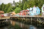 Creek Street in Ketchikan Alaska