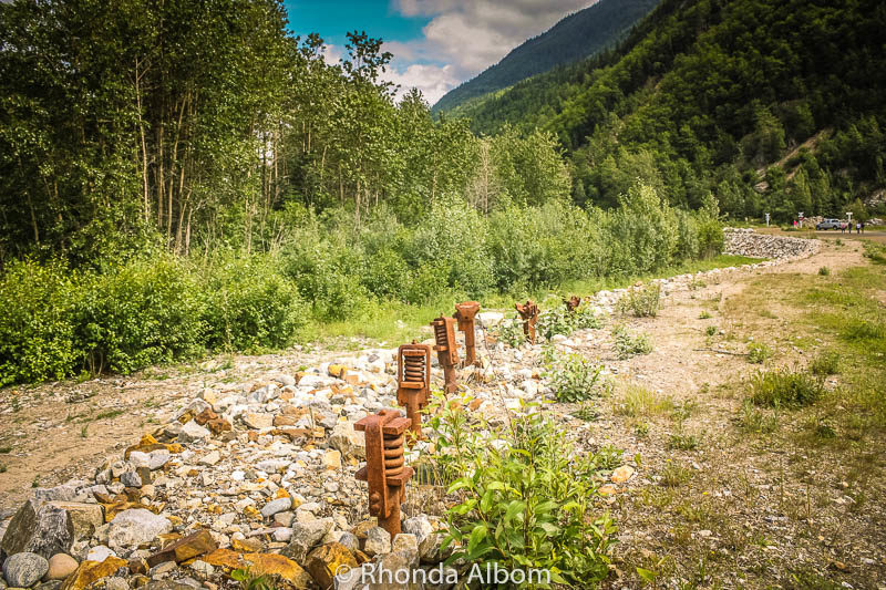 Hiking along the old tracks is one of the many things to do in Skagway Alaska