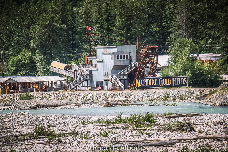Panning for gold at Klondike Gold Fields is one of the many things to do in Skagway Alaska