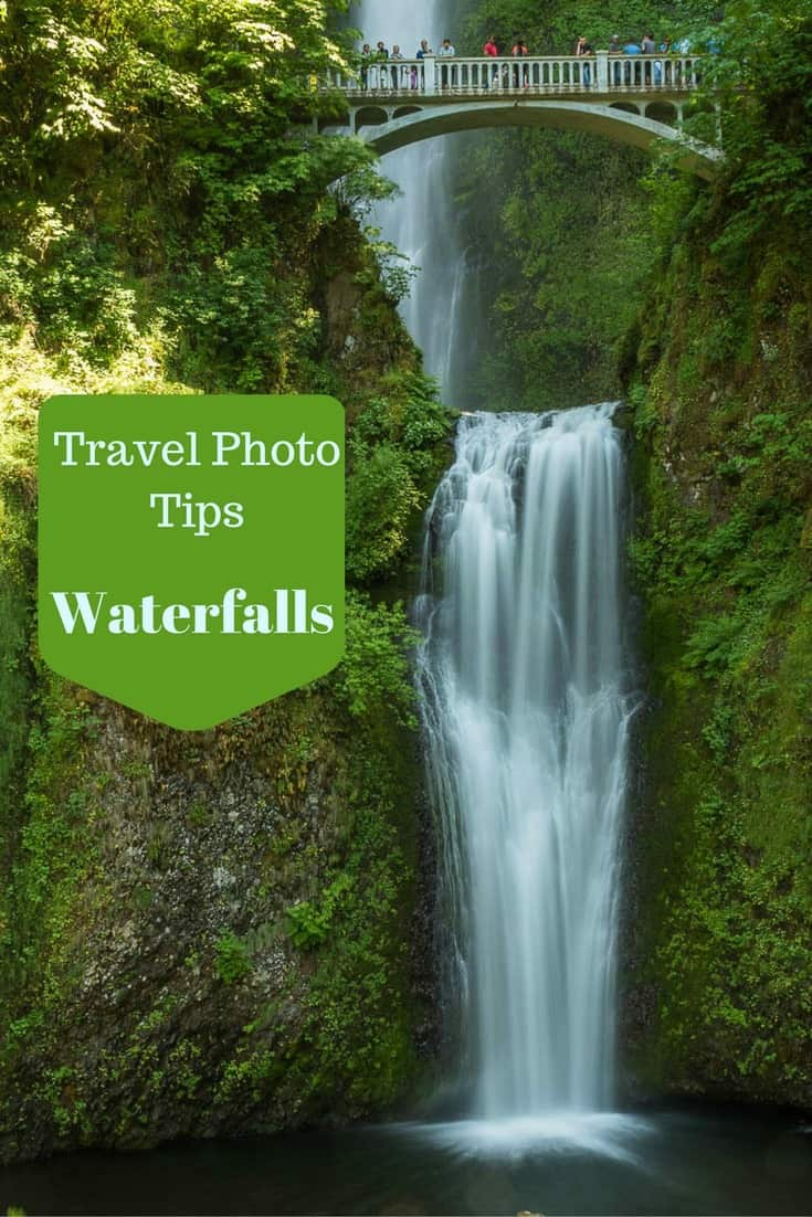 Travel photo tips on how to photograph waterfalls