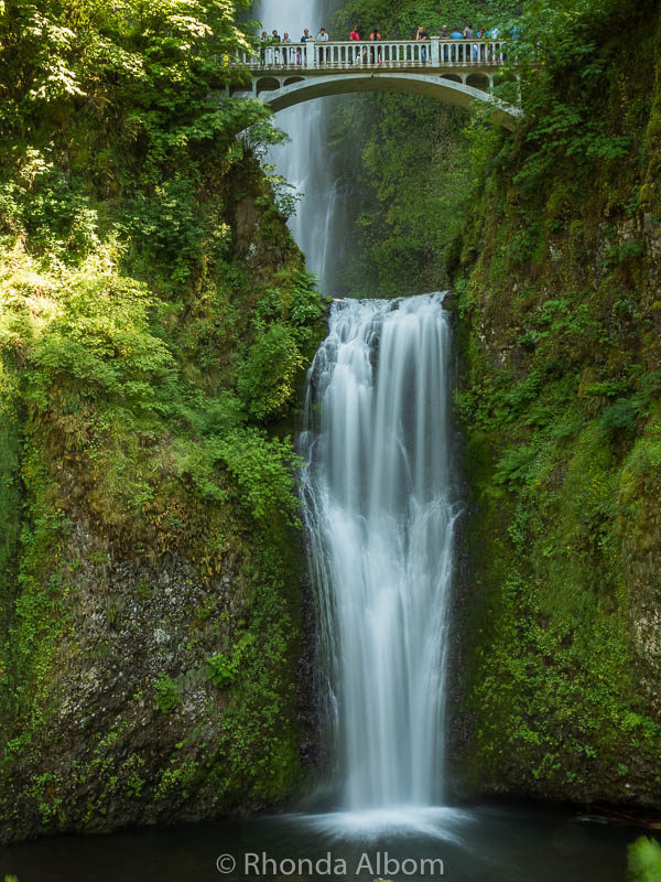 Multnomah falls, near Portland Oregon