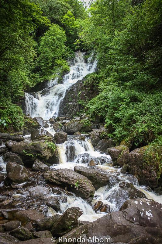 Waterfall in Kilarney National Park, Ireland