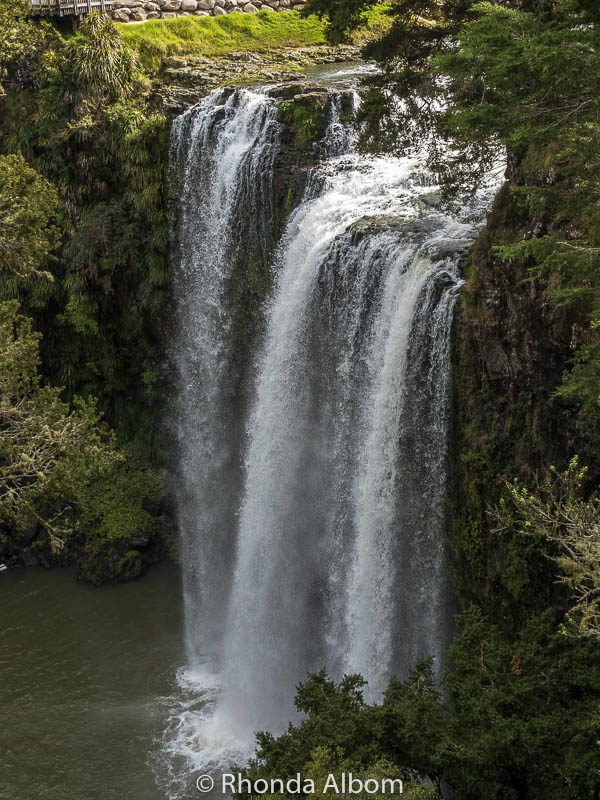 Whangarai Falls in Whangarai New Zealand