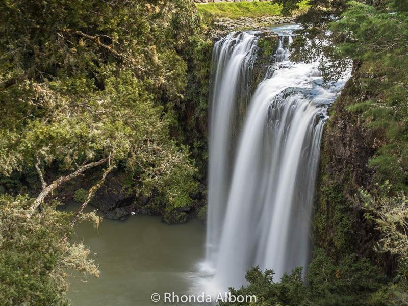 Whangarai Falls in Whangarai New Zealand