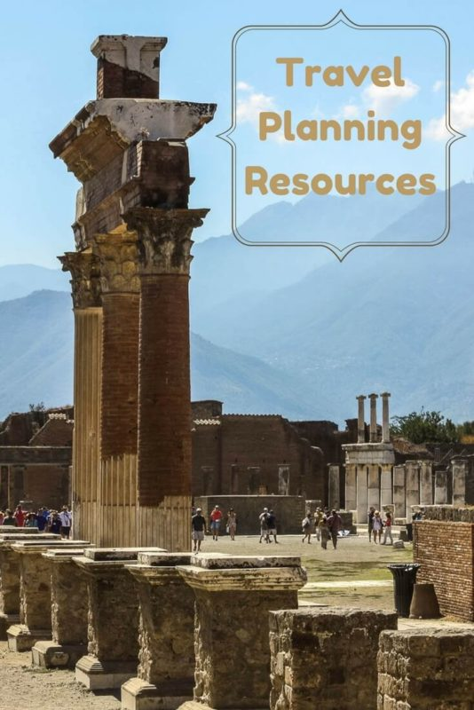 A collection of travel planning resources for saving time and money on accommodations, airfare, tours, books and more. Read the article for details