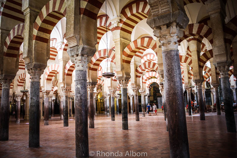 La Mezquita in Cordoba Spain