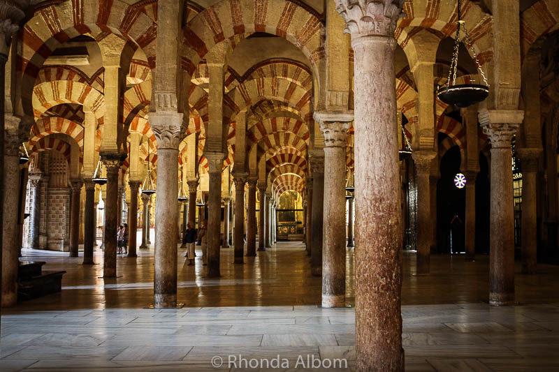 La Mezquita (Mosque - Cathedral of Córdoba) in Cordoba Spain