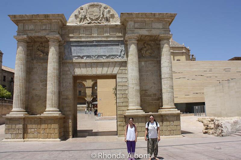 City gate in Cordoba Spain