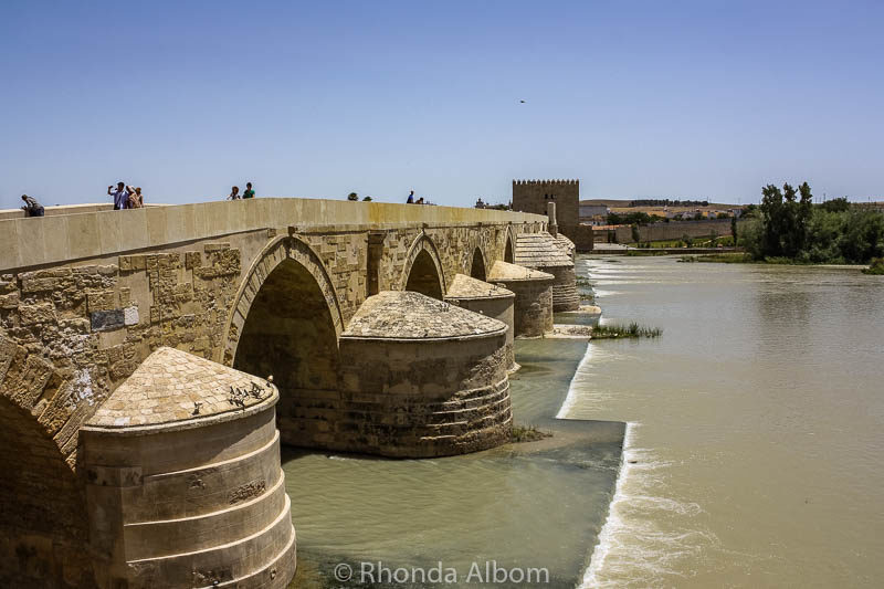 Roman bridge in Cordoba Spain