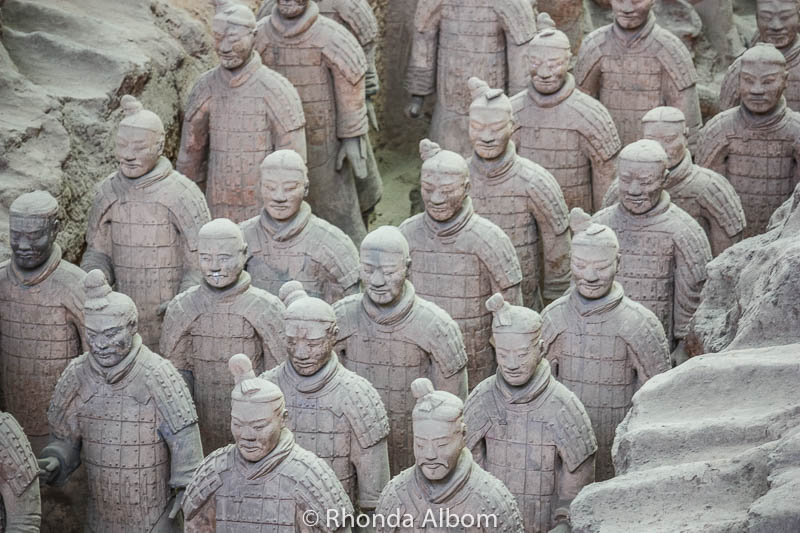 Army of the Terracotta Warriors in Xian China