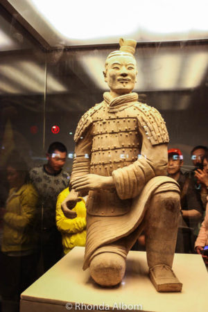 Museum at the Army of the Terracotta Warriors in Xian China