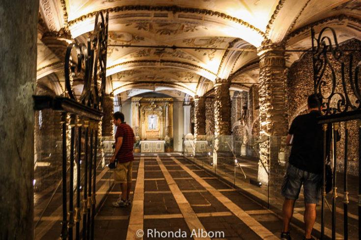 Capela dos Ossos (Chapel of Bones), Evora, Portugal