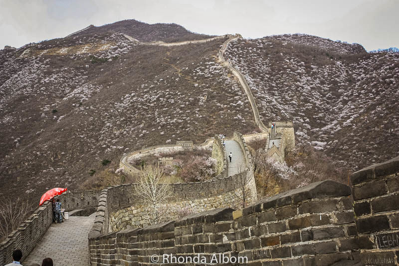 Mutianyu or Badaling - the steep paths are part of the decision at the Great Wall of China.